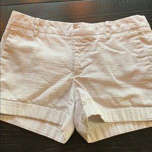 ZARA pinstripe shorts size XS